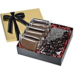Premium Confection w/Cookies - Dark Chocolate Almonds