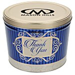3-Way Popcorn Tin - Design - 2 Gallon