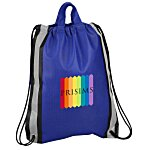 "Reflective Stripe Sportpack - 20"" x 16"" - Full Color"