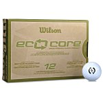 Wilson Eco Core Golf Ball - Dozen - Standard Ship
