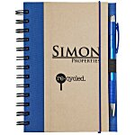 Eco Design Recycled Color Spine Spiral Notebook - 24 hr