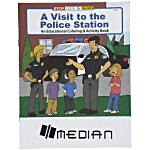 A Visit to the Police Station Coloring Book