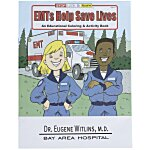 EMT'S Help Save Lives Coloring Book
