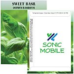 Standard Series Seed Packet - Sweet Basil