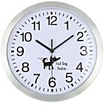 Metallic Edge Slim Wall Clock - 12