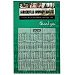 Bic 20 mil Calendar Magnet - Thank You