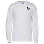 Gildan 6 oz. Ultra Cotton LS T-Shirt - Men's - White - Screen