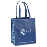 Expressions Grocery Tote - Blue