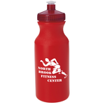 Sport Bottle with Push Pull Cap - 20 oz. - Colors - 24 hr