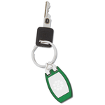 Color Edge Metal Key Tag