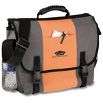 4imprint Messenger Bag-Screened-Closeout