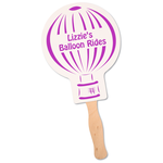Hand Fan - Balloon
