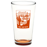 Pint Glass – 16 oz. – Bottom Color