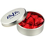 Chocolate Hearts Tin