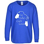 Gildan 6.1 oz. Ultra Cotton LS T-Shirt - Youth - Colors