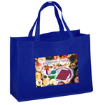 "Celebration Shopping Tote - 12"" x 16"" - 18"" Handles - FC"