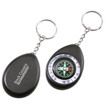 Oval Compass Key Tag