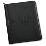 Wingtip Zippered Padfolio