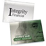 ATM/Debit Card Pocket Register - Money
