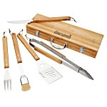 5-Piece Bamboo BBQ Set