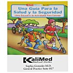 A Guide To Health & Safety Coloring Book - Spanish