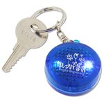 Round Soft Touch LED Key Tag