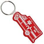 Ambulance Soft Key Tag - Translucent