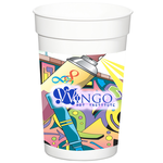 Full Color Wrap Stadium Cup - 17 oz.
