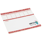 Bic Note Paper Mouse Pad - Weekly - 25 Sheet