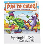 Fun To Color Coloring Book
