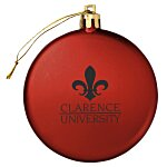 Satin Flat Ornament