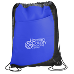 Trapezoid Drawstring Sportpack - 24 hr