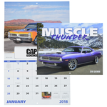 Muscle Thunder Calendar - Window