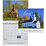 Scenic Churches Calendar - Stapled