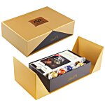 Gift Box with Lindor Truffles and Chocolate Bar