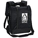 Vertical Laptop Backpack Brief