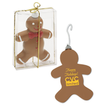 Shatterproof Ornament - Gingerbread Man - 24 hr