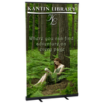 Economy Retractor Banner Display - 47-1/4""