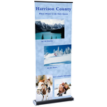 Square-Off Retractable Banner - 35-3/4