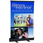 Economy Tabletop Retractor Banner Display - 24