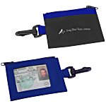 Zip Pouch ID Holder - Colors