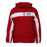 Badger Sport Brushed Tricot Hooded Jacket - Men's