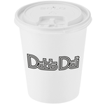 Paper Hot/Cold Cup with Tear Tab Lid - 10 oz.