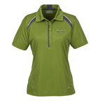 Quinn Colorblock Textured Polo - Ladies'