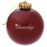 Round Shatterproof Ornament – Opaque
