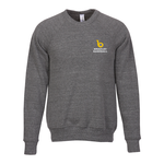 Canvas Tri-Blend Sponge Fleece Crewneck - Embroidery