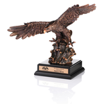 Legacy Bronze Finished Eagle Award