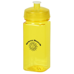 PolySure Squared-Up Sport Bottle - 16 oz. - Translucent