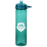 PolySure Cyclone Sport Bottle w/Handle -24 oz.- Translucent
