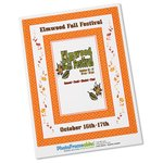Removable Picture Frame Decal - 4 x 6 - Diamond